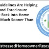 FHA Guidelines Getting Short Sale and Foreclosure Victims Back Into Homeownership
