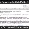 Will The Mortgage Forgiveness Debt Relief Act of 2007 be Extended through 2014
