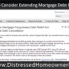 Senate to Consider Extending Mortgage Forgiveness Debt Relief